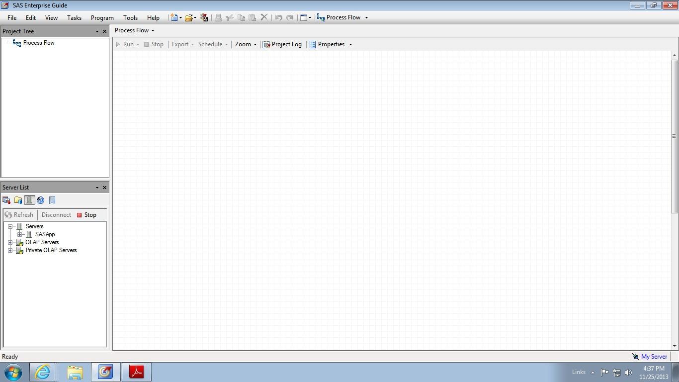 SAS EG 5 1 - System Runtime InteropServices COMExc    - SAS