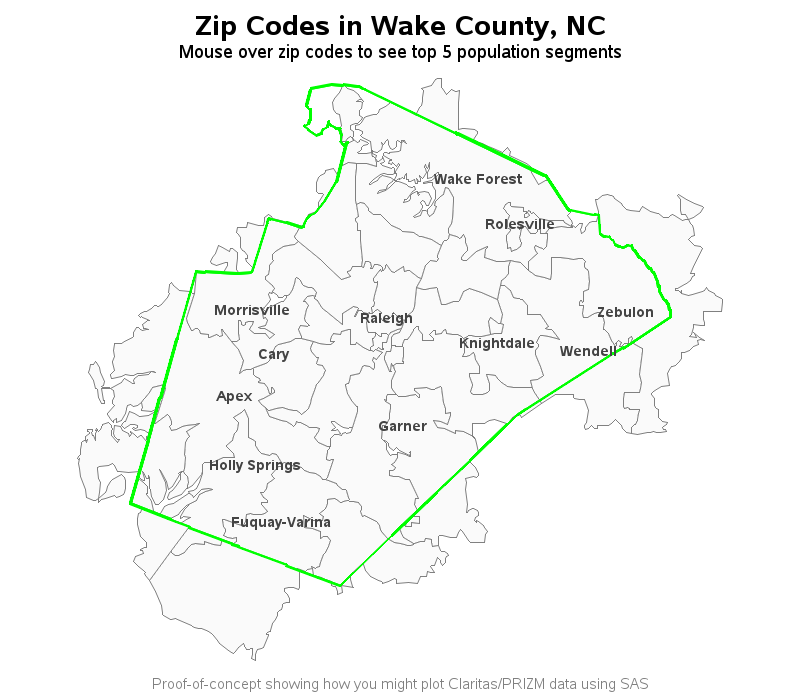 Fuquay Varina Zip Code Map.Solved County And Zip Code Boundaries Not Matching Sas Support