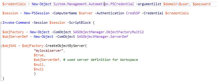 Access is denied  0x80070005 localhost SAS Workspa    - SAS