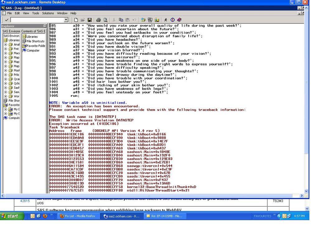 Rdp error 6151