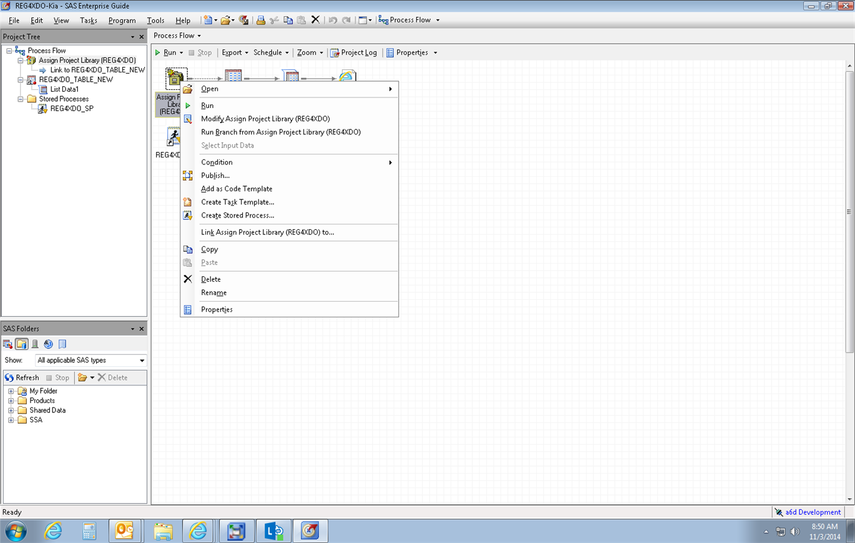 Select Input Data Greyed Out EG 6 1 - SAS Support Communities