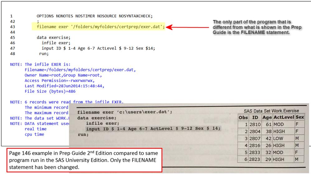 Solved: Create raw dataset from SAS dataset in SAS Univers