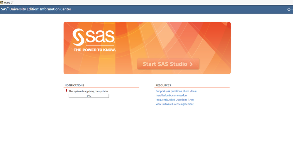 Service Temporarily Unavailable Error 503 - an upd    - SAS
