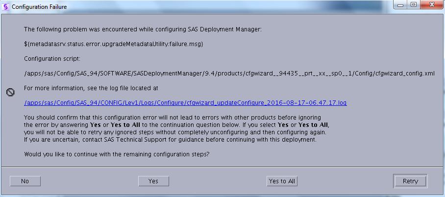 SAS Update error.png