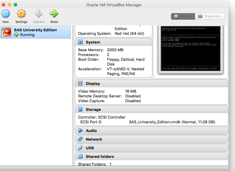 Solved: Importing SAS to VirtualBox error- Required Machin    - SAS