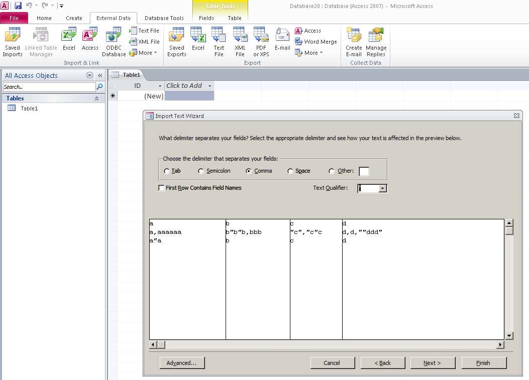 Reading CSV file with embedded double quotes, comm    - SAS Support