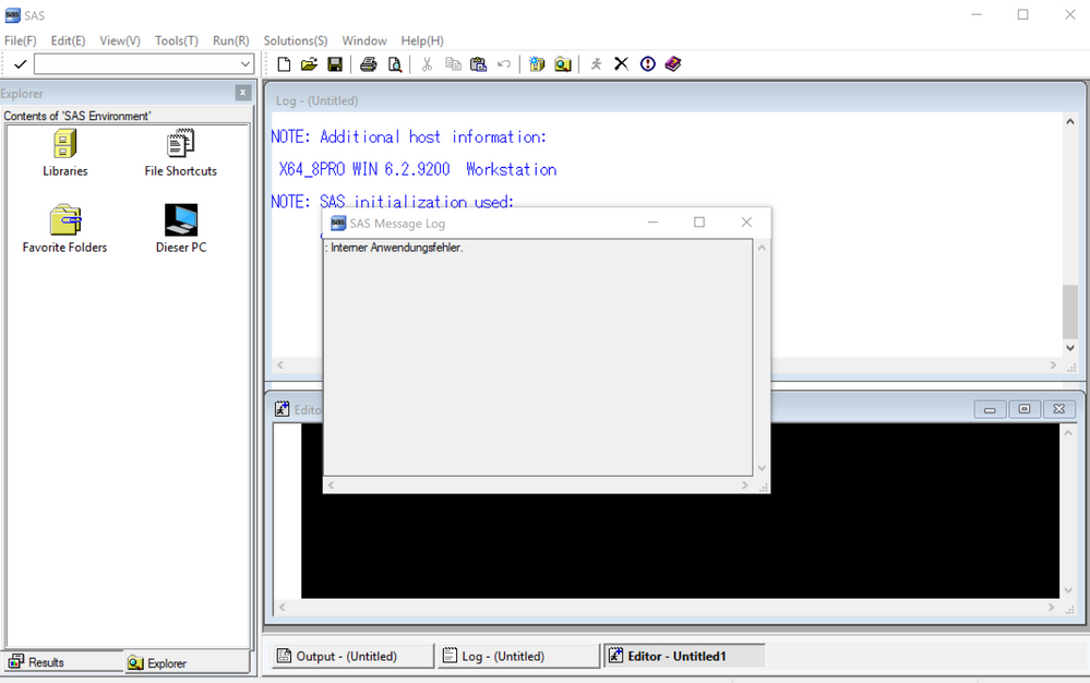editor window background color - SAS Support Communities
