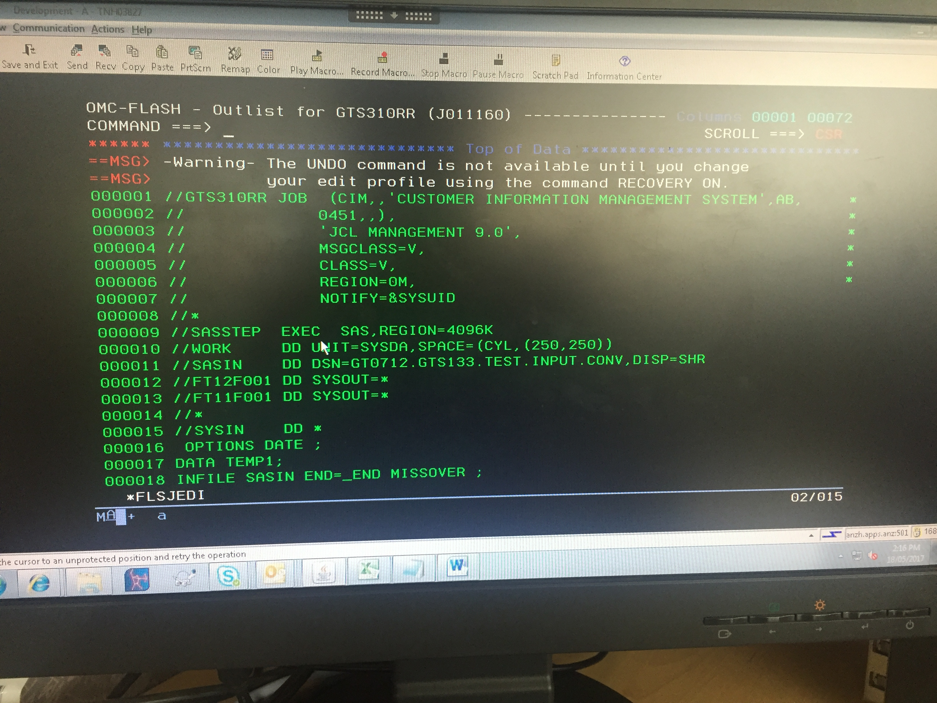 Solved: trying to read cobol raw dataset and converting in    - SAS