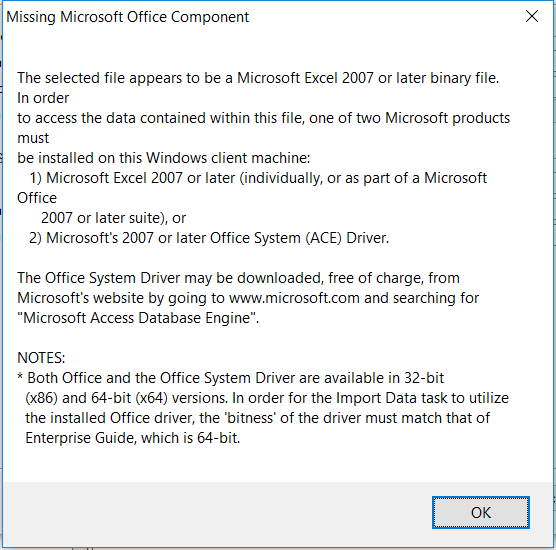 Datasheet view issue even after 2007 office system driver: data.