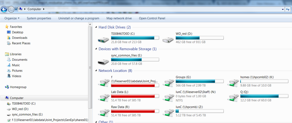 Read remote files on network drives in SAS Base - SAS Support