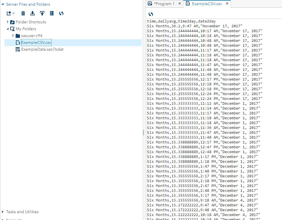 How to Export SAS Datasets as a  CSV File in SAS U    - SAS