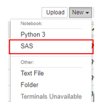 Installing SASPy Kernel for Jupyter Notebooks and     - SAS