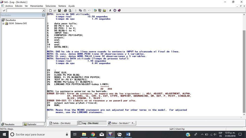 Solved: LSMEANS / LINES option in PROC GLM? - SAS Support