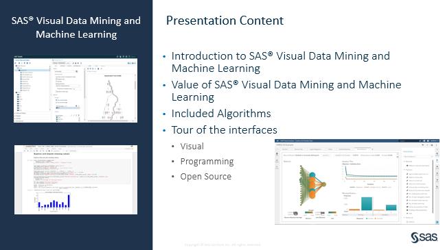 SAS Visual Data Mining and Machine Learning (VDMML): Getting
