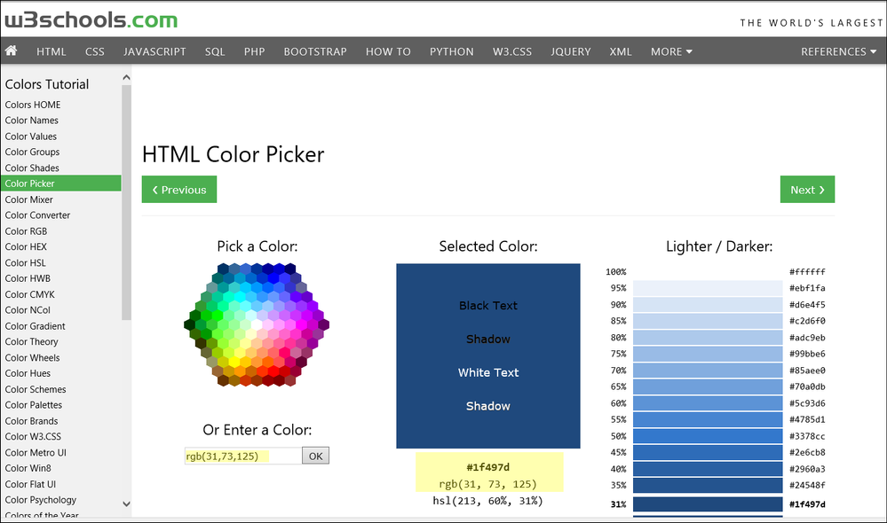 Solved: Converting Microsoft Office colors to SAS colors