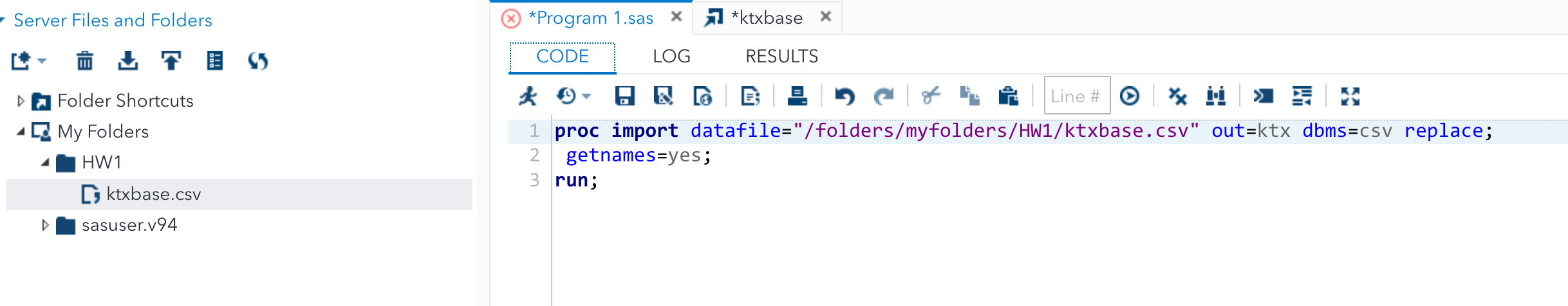 Solved: Failure to read data from  csv file using SAS UE