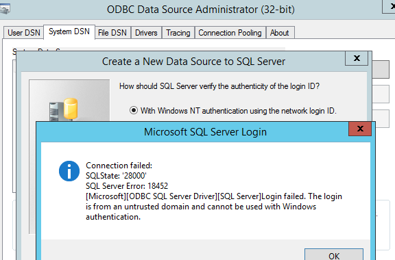 Solved: Connecting to MS SQL Server - SAS Support Communities