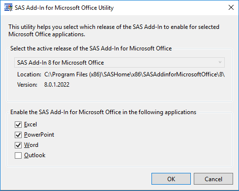 Solved: Add-in Disabled in Excel - SAS Support Communities