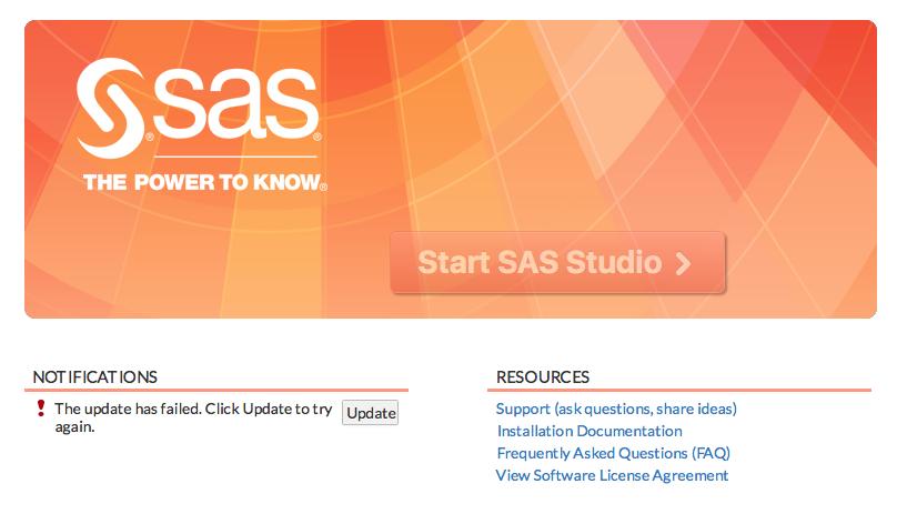 Solved: Mac OS El Capitan - SAS U on Virtual Box - Error w