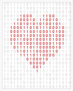 """""""Binary heart"""" by @Rick_SAS"""