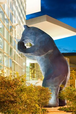 Blue Bear Photo credit: Scott Dressel-Martin for the Colorado Convention Center