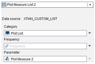 List parameters