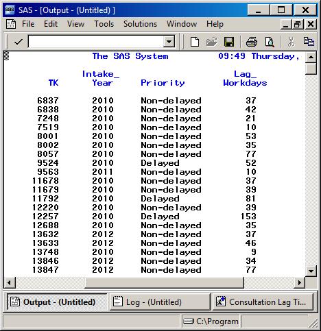 In in compute proc option report training sas