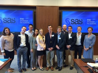 Dr. Alice Kassens and her Roanoke College students visit SAS.jpg